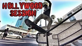 SKATEBOARDING IN HOLLYWOOD W/ THECAVICLUB