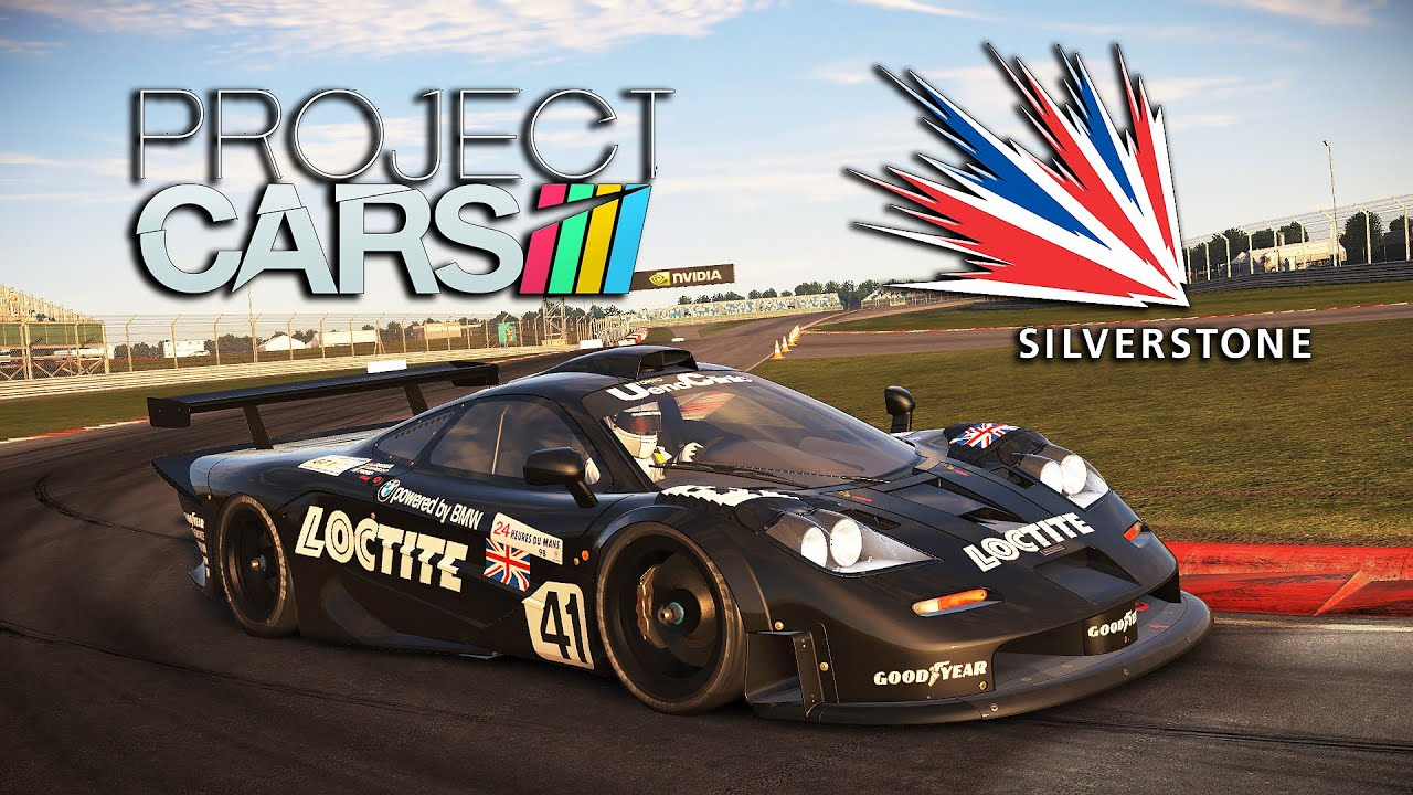 project cars racing icons dlc mclaren f1 gtr silverstone circuit gp youtube. Black Bedroom Furniture Sets. Home Design Ideas
