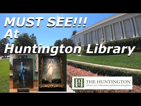 Top Attractions  To See At Huntington Library