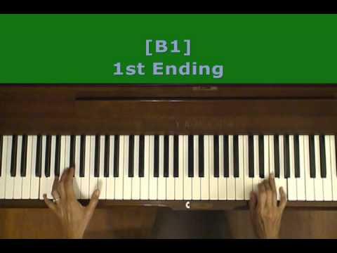 Billy Joel Root Beer Rag Piano Tutorial SLOW