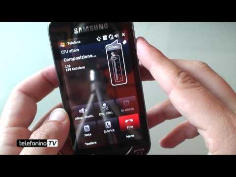 Samsung Omnia Pro videoreview da Telefonino.net