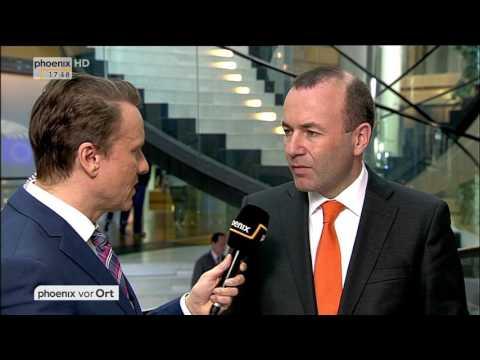 Deutsch-türkisches Verhältnis: Interview mit Manfred Weber am 14.03.2017