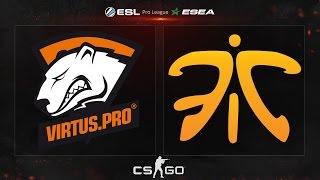 CS:GO - Virtus.Pro vs. Fnatic [Train] - ESL ESEA Pro League Season 2 - Week 5, Day 5