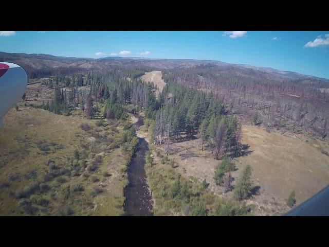 Chamberlain Idaho airstrip.