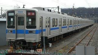 【東武10030系 11654F 野田線転属工事 青帯取付ほぼ完了!】残りドア部の青帯と緑帯追加。もうすぐ工事完成する模様。