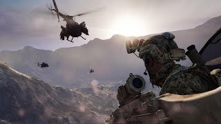 Very Cool Mission on Choppers in Online Shooter on PC Medal of Honor Warfighter