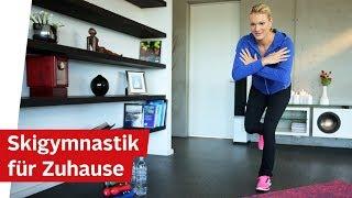 Skigymnastik Übungen für Zuhause: Ski Fitness Workout mit Maria Höfl-Riesch – OTTO