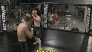 Elite Cage Fighting 34 - Cody Thacker Vs. Pat White