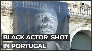 Portugal anti-racism rally: Anger at shooting of Black actor