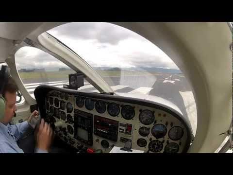 GoPro HD Hero 2 - Cessna 340 - SKBO / SKCL