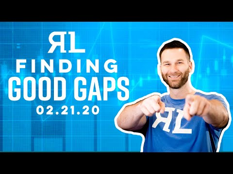 How to Find Good Gaps – Friday's Trade Review