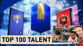 Yesse heeft het beste team ooit!! | TOP100 TALENT #36 | KOEN WEIJLAND FIFA19