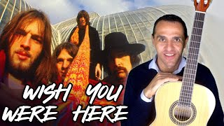 WISH YOU WERE HERE - PINK FLOYD - Guitar Lesson