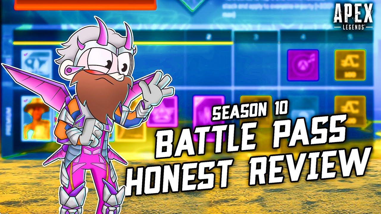 Season 10 Battle Pass: HORRIFYING...in a good way? (Review - Apex Legends.)