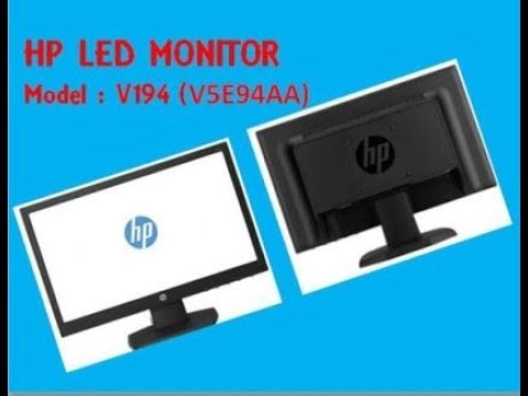 HP L185X LED BACKLIT LCD MONITOR DRIVERS PC
