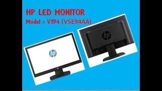 монитор HP V197