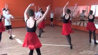 Урок народного танца Часть 7