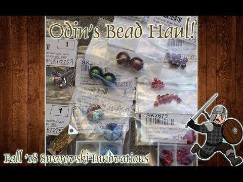 Swarovski Bead Innovations Fall 2018 - Odin's Bead Haul