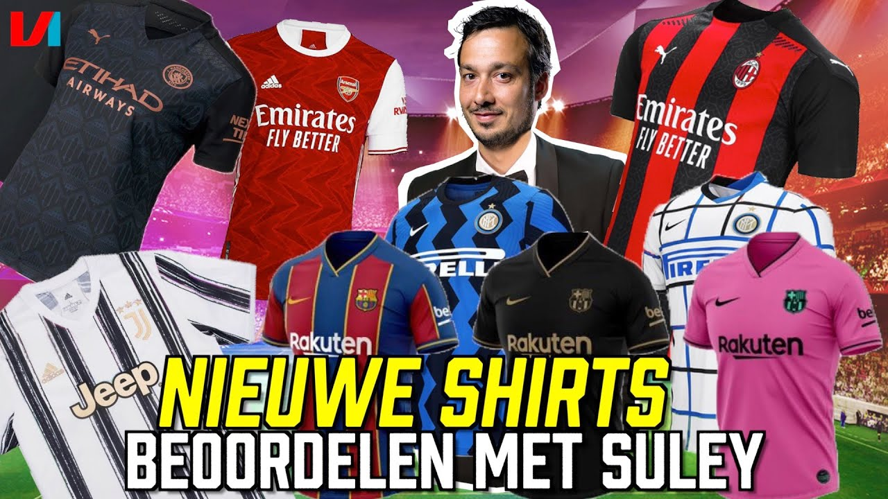 REAGEREN OP NIEUWE SHIRTS 20/21: 'Met Dit Shirt Kan Je Onmogelijk Kampioen Worden'