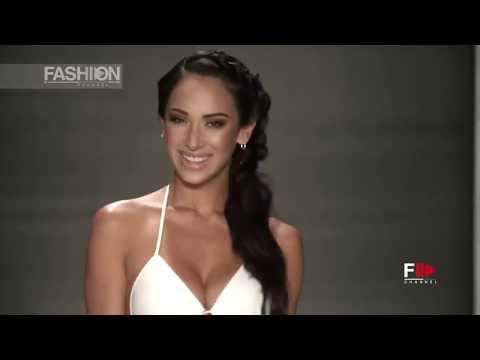 COURTNEY ALLEGRA SWIM AHF Spring Summer 2018 Miami - Fashion Channel