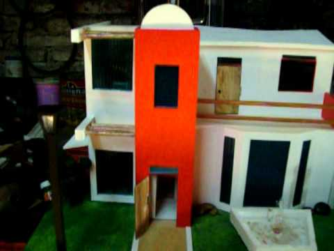 Maqueta de casa domotica youtube - Maqueta casa up ...