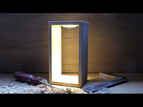 Goede DIY The making of: Een design LED lamp (m.b.v. Ikea lampje) - YouTube VL-46