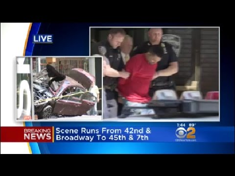Chief Of Manhattan Detectives William Aubry Gives Details On Times Square Crash