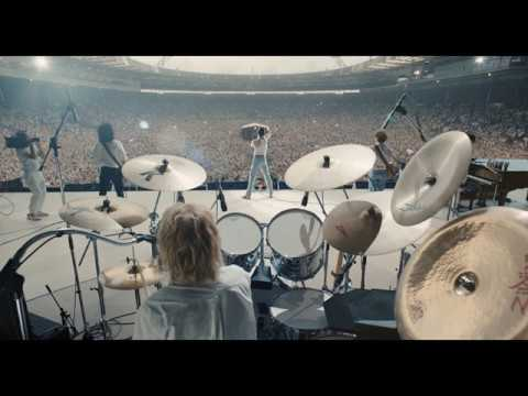 Bohemian Rhapsody Movie | All Live Aid footage