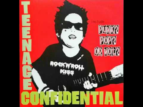 TEENAGE CONFIDENTIAL - I WANNA BE FREE