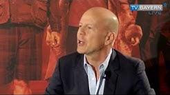 Bruce Willis in München - Bericht vom 28.07.2013 auf TV BAYERN LIVE*