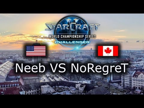 Neeb VS NoRegreT - WCS Leipzig NA Qualifier - Ro8 - polski komentarz - PvZ