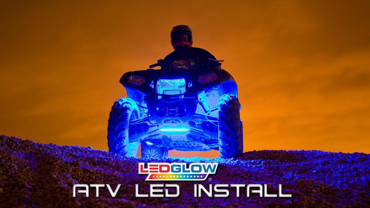 Ledglow How To Install Atv Led Lights Youtube Christmas Wiring Schematic Free Download Diagrams