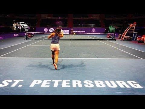Incredible game by Darya Kasatkina St Petersburg Ladies Trophy 2018 | Tennis highlights