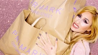HUGE PRIMARK HAUL! // CHEAP Clothing, Makeup & Beauty items // March 2016