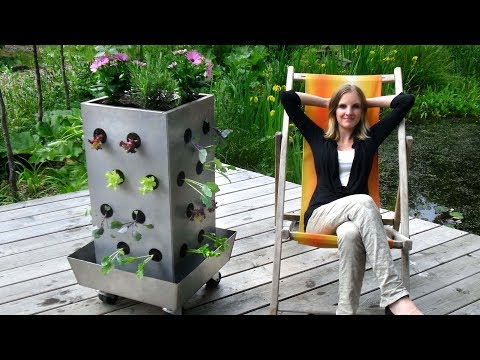 tutorial 3 blumentopf mit bew sserungssystem bauer doovi. Black Bedroom Furniture Sets. Home Design Ideas