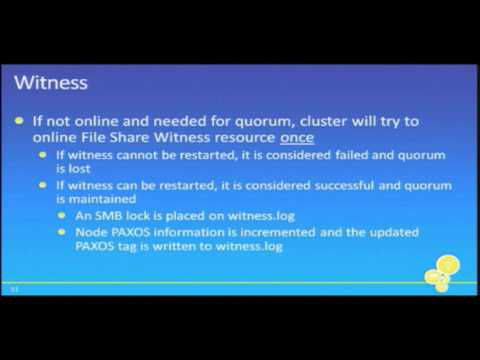 Tech·Ed New Zealand 2010 Exchange Server 2010 SP1 High Availability Deep Dive