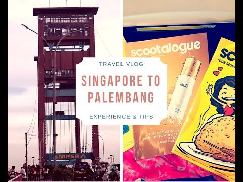 Travel Vlog #3: Singapore to Palembang (Indonesia) - |Experiences & Tips for travellers|