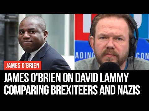 James O'Brien On David Lammy's Comparison Between Brexiteers And Nazis - LBC