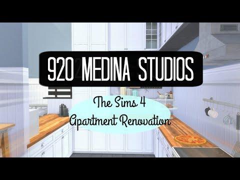The Sims 4    Apartment Renovation    920 Medina Studios