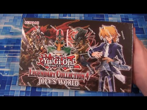 Yugioh Joey's World Legendary Collection Opening poster