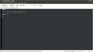 PHP Basics: Reading and Writing Files