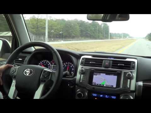 Test Driving the 2015 Toyota 4Runner Limited