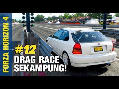 JEJE BISA DRAG RACE? | Forza Horizon 4 Indonesia