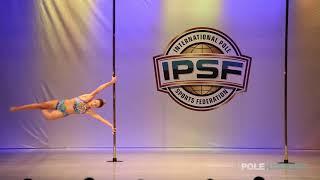 Lydia ollia Stavroula - IPSF World Pole Championships 2018