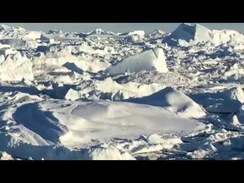 Stranded Icebergs at Sermermiut Icefjord