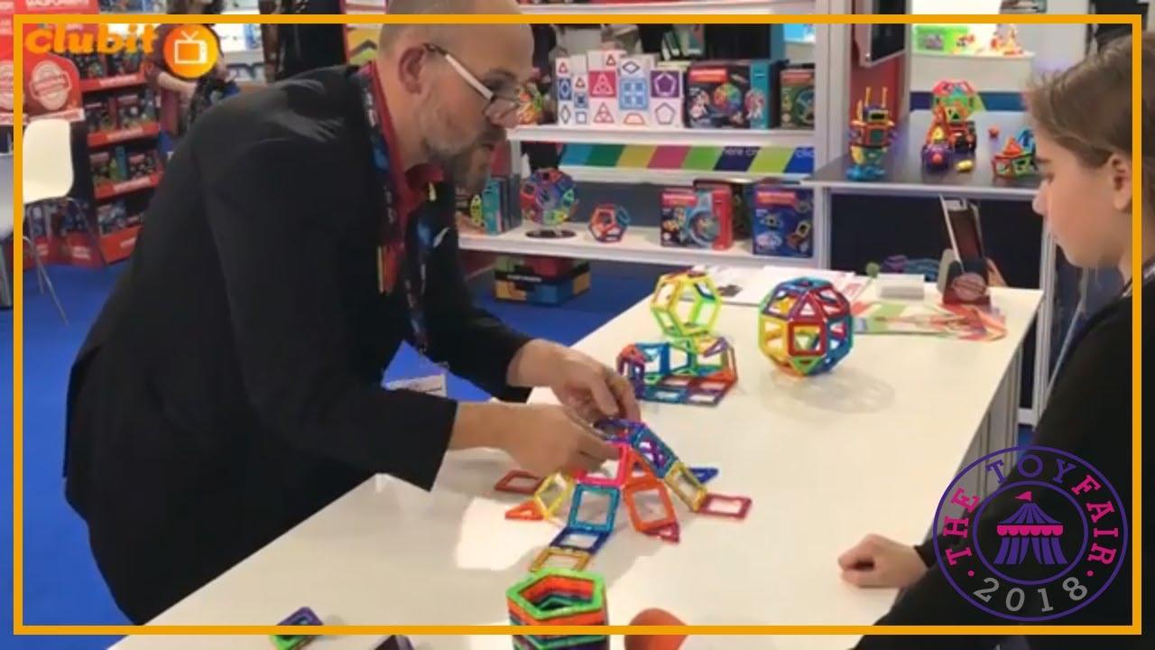 Magformers - Teaching Children 3D Geometry Through Play