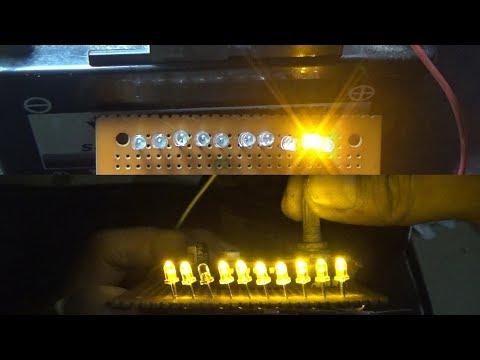 Cara Membuat Running LED(simple LED Knight Rider).