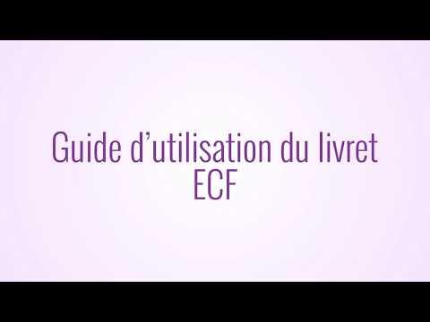 AFPA - Guide d'utilisation du livret ECF