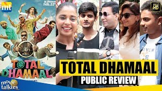 TOTAL DHAMAAL Public REVIEW Ajay Devgn,Anil Kapoor,Madhuri Dixit,Riteish Deshmukh