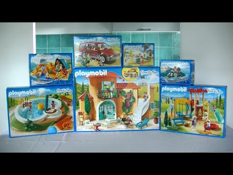 Unboxing playmobil fr la maison de vacances 2018 for Maison moderne playmobil 2018